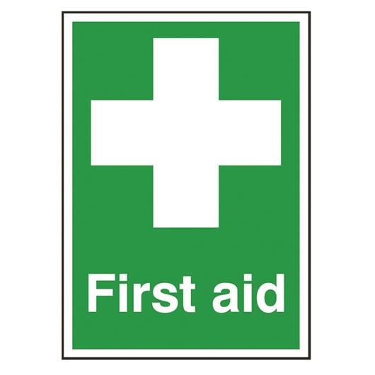 Picture of First Aid Sign