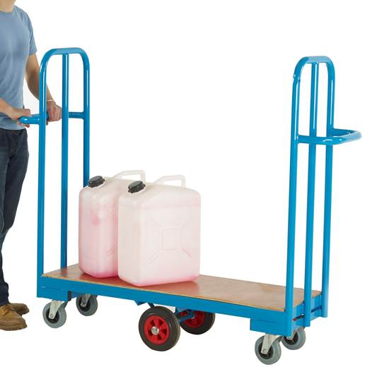 Picture of Narrow Aisle Cash & Carry Trolley