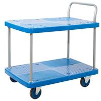 Picture of Proplaz Blue Two Tier Trolley
