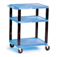 Picture of Service Trolleys with 3 Coloured Shelves